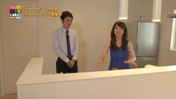 2016年8月6日放送 ミサワホーム四国「宿泊体験モデルハウス」